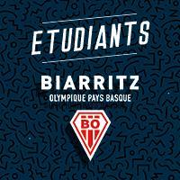 19/20 BIARRITZ ETUDIANTS